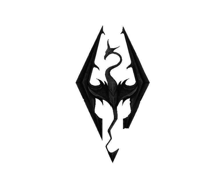 The Elder Scrolls V: Skyrim Logo Decal Video game Mod.