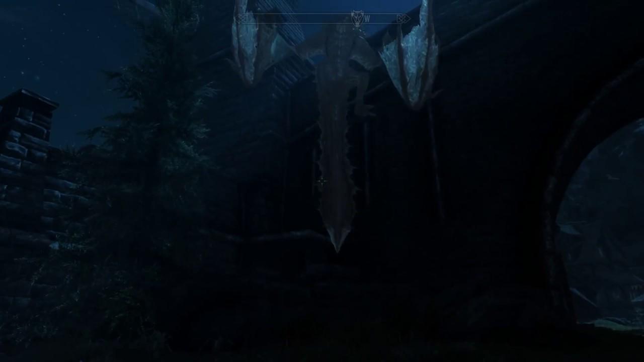 Skyrim: Stuck Dragon.