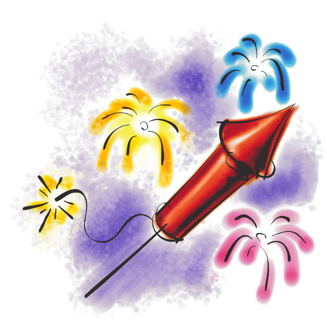 U.S.A.★Independence Day Free Clip Art & gifs: Page 1 Fireworks.