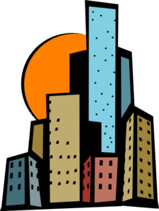 Skyscrapers In The City Clip Art at Clker.com.