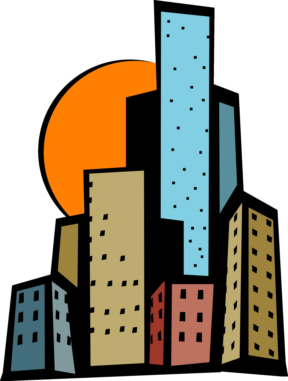 14+ Skyscraper Clipart.