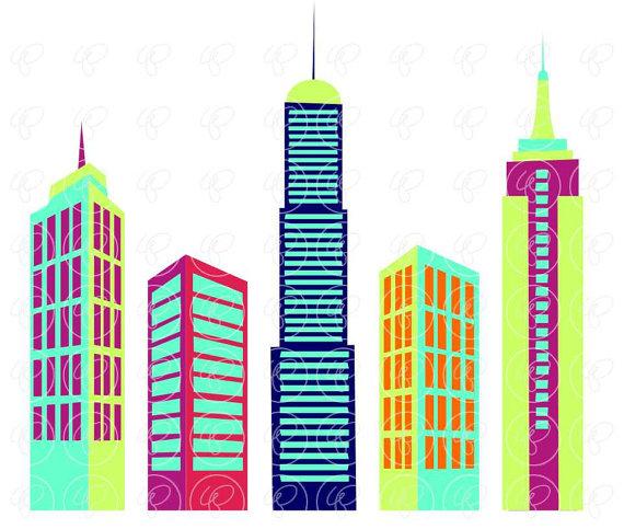 Collection of Skyscraper clipart.