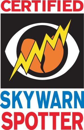 SkyWarn™ logo vector.