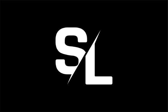 Monogram SL Logo Design.