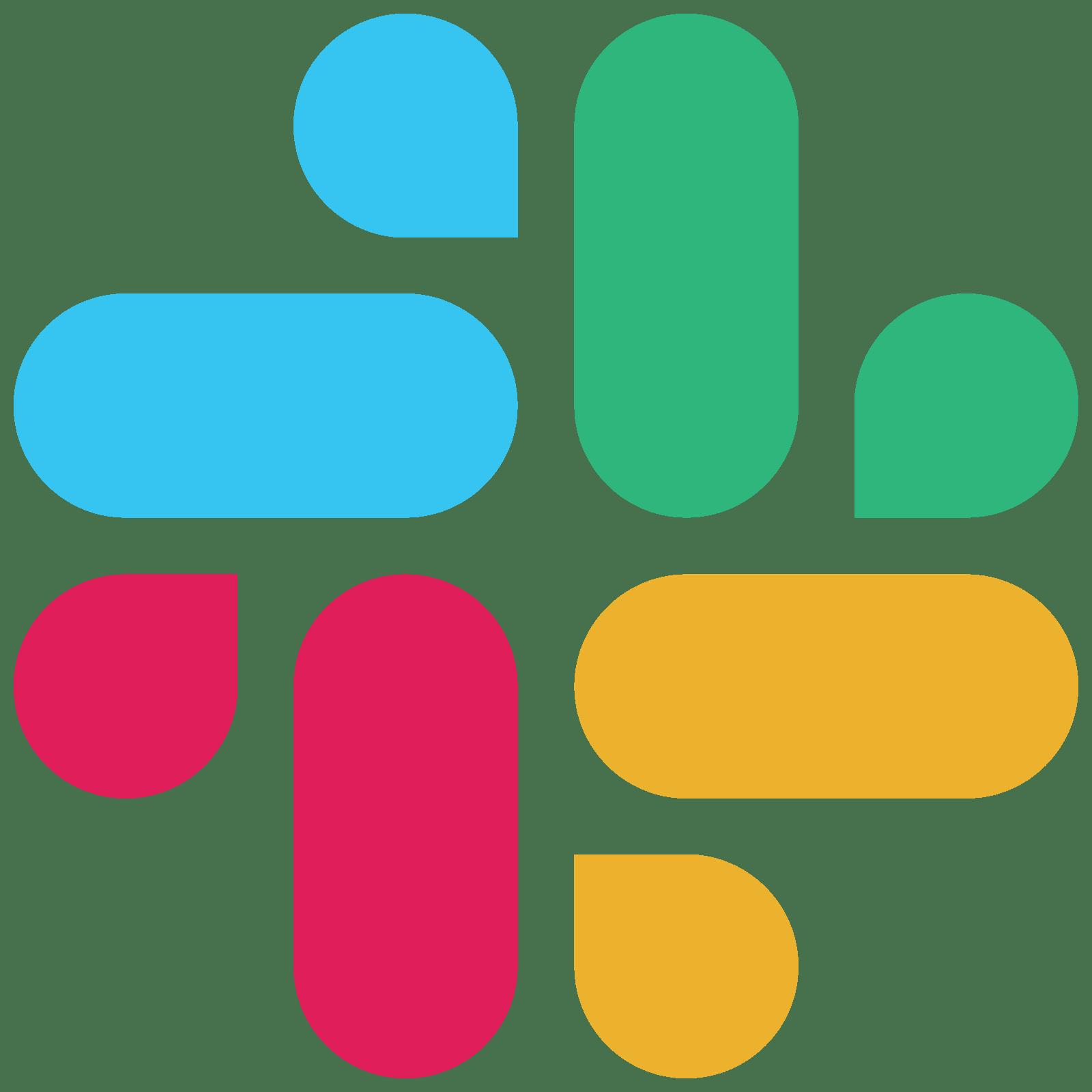 Slack New Logo Icon transparent PNG.
