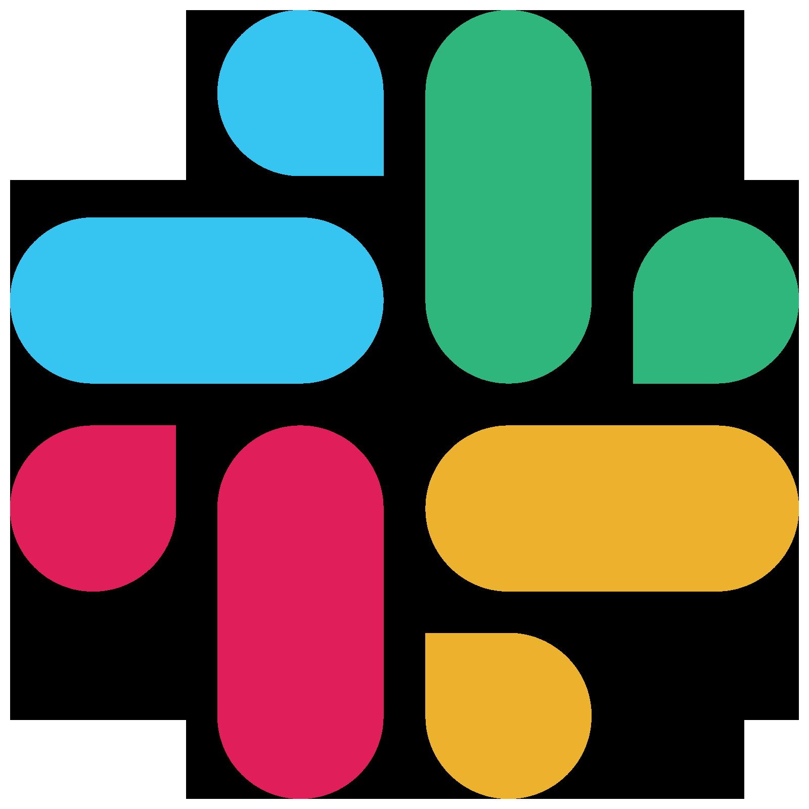 New Slack Logo 2019 PNG Transparent & SVG Vector.