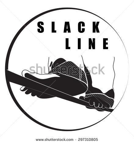 Slackline Stock Vectors, Images & Vector Art.