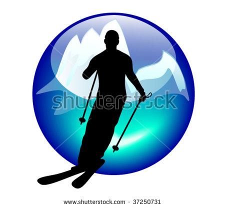 Slalom Skiing Stock Vectors, Images & Vector Art.