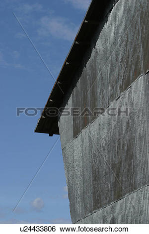 Stock Images of cabin, barn, rooftop, roof, shingles, slant.