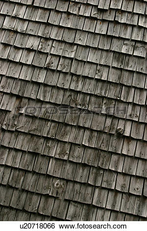 Stock Images of pitched, roof, exterior, shingles, tiles.