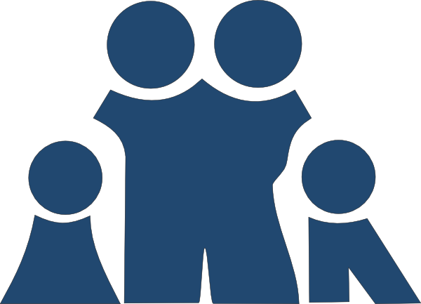 Slate Blue Family Clip Art at Clker.com.