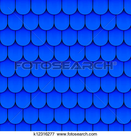 Stock Illustration of Texture of blue slate k12316277.