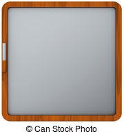 Scope screen setting slate Clip Art and Stock Illustrations. 2.