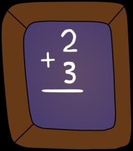 Slate Math Clip Art at Clker.com.