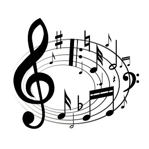 Fall band concert clipart.