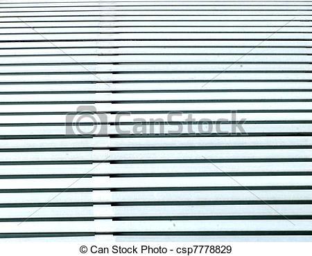 Stock Photographs of WHITE WOODEN SLATS.