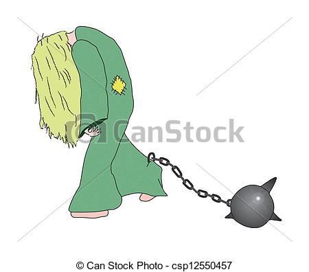 Slave woman clipart.