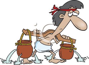 Egypt Slaves Clipart.