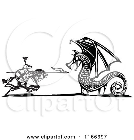 Dragon Slayer Free Clipart.