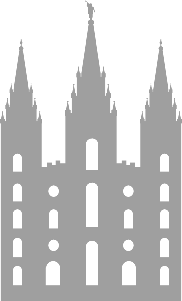 Salt Lake City Temple Clip Art at Clker.com.