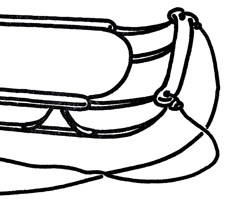Free Sled Cliparts BW, Download Free Clip Art, Free Clip Art.