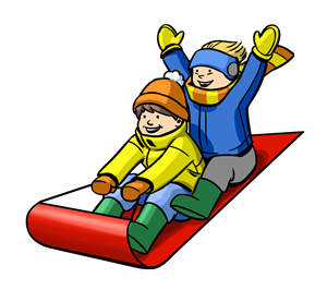 Sled Clipart.