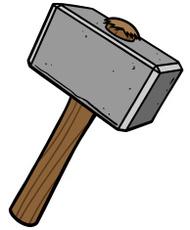 Red Sledgehammer clip art clip arts, free clip art.