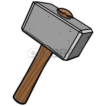 794 Sledgehammer Stock Vector Illustration And Royalty Free.