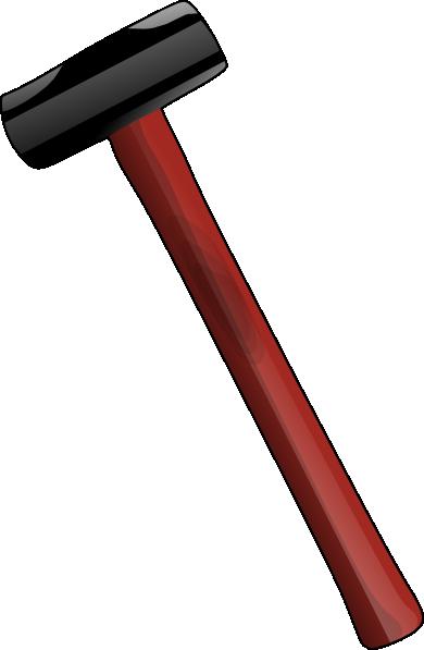 Sledge hammer clipart.
