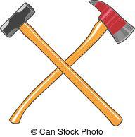 Sledge hammer Clipart and Stock Illustrations. 210 Sledge hammer.
