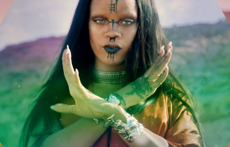 WATCH: Rihanna's Star Trek.
