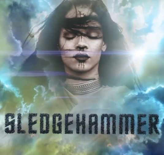 Listen to Rihanna's new song 'Sledgehammer'.