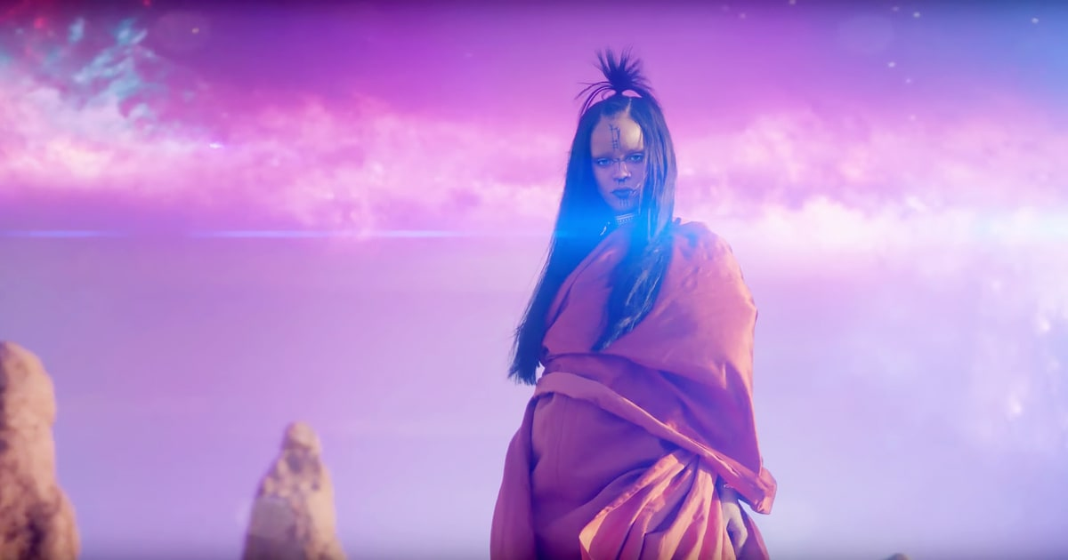 See Rihanna's Epic, 'Star Trek'.