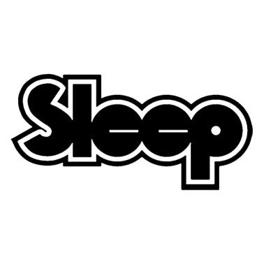 sleep band stoner doom metal Mouse pad Horizontal.