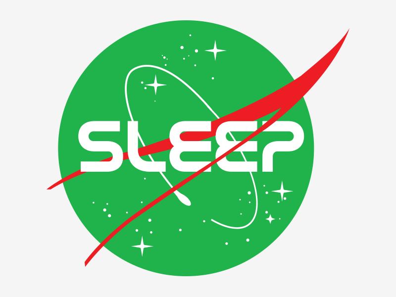 Sleep NASA by Paolo Rui on Dribbble.