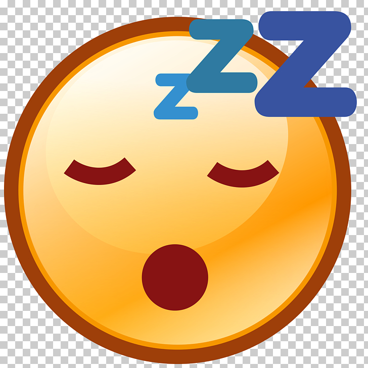 Smiley Emoticon Emoji Sleep, Smiley PNG clipart.