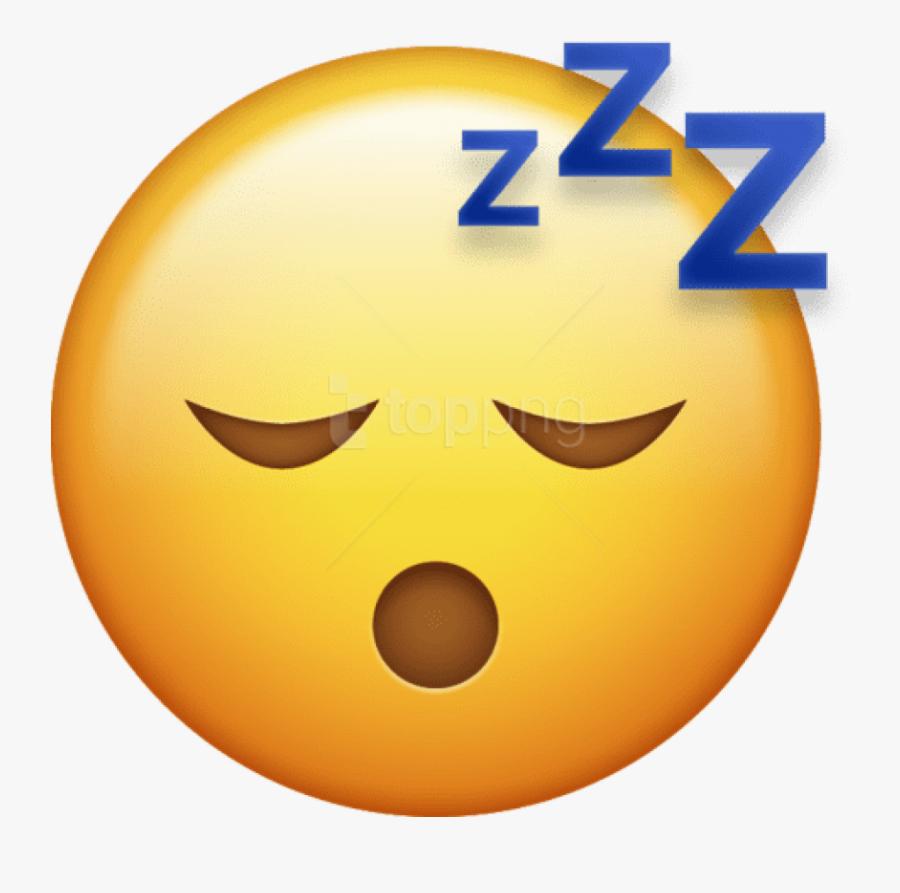 Transparent Background Sleep Emoji , Free Transparent.