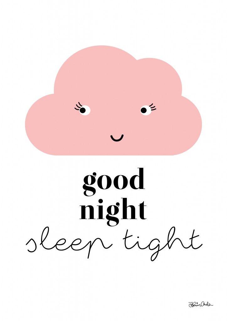 Good Night! Sleep tight. (\