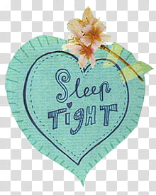 sleep tight text illustration transparent background PNG.