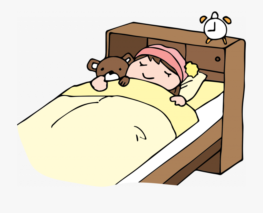 Bed Night Time Transparent Nap Clipart Time.