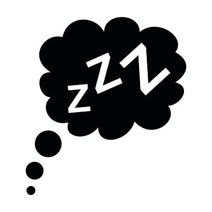Sleep Icon Clipart.