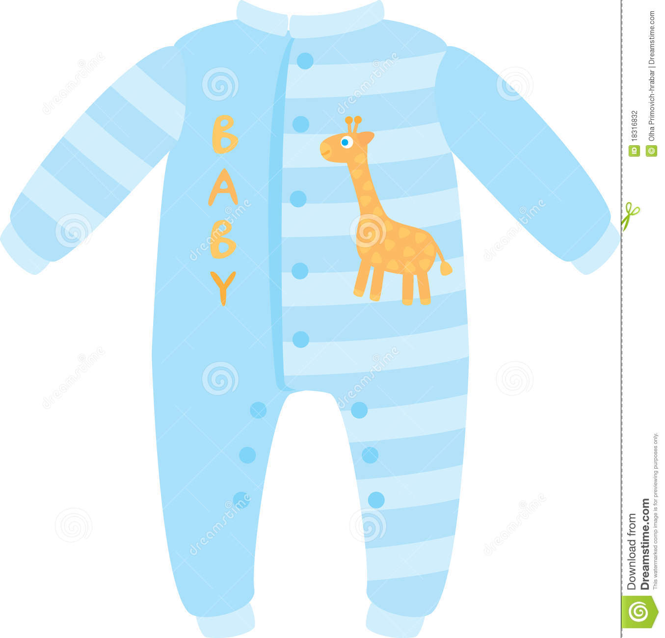 Baby Boy's Sleeper Stock Photography.