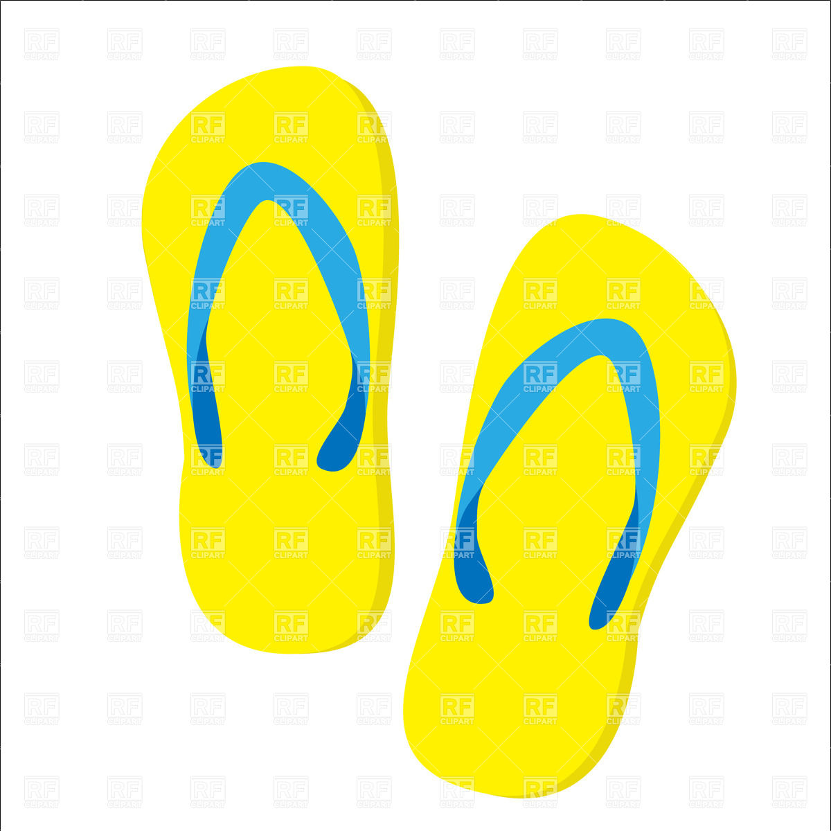 Free clipart slippers.