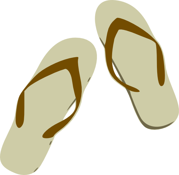 Slippers Clipart.