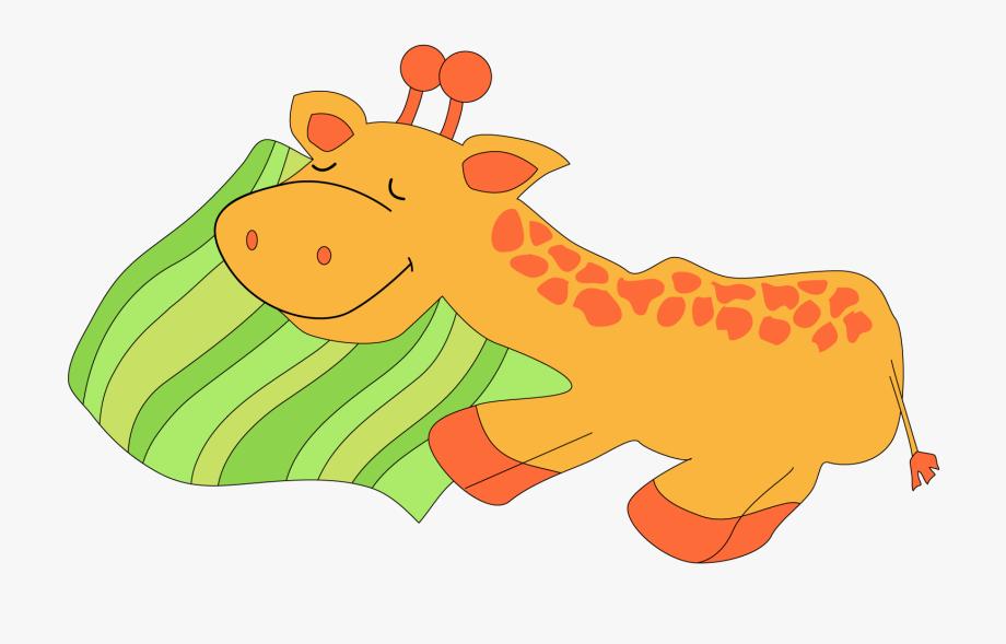 Giraffe Animal Clipart Free.