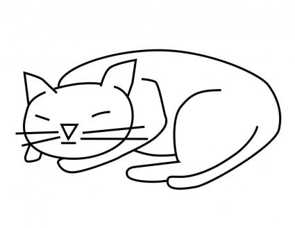 Sleeping Animals Clip Art Download.