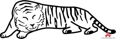 Animals Clipart of puma.