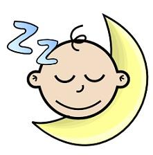 Free Sleeping Babies Clipart.