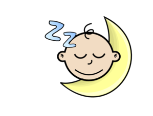 Sleeping baby clip art clipart images gallery for free.