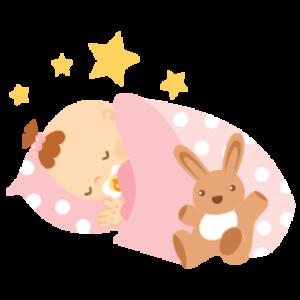 Baby Girl Sleeping 256.